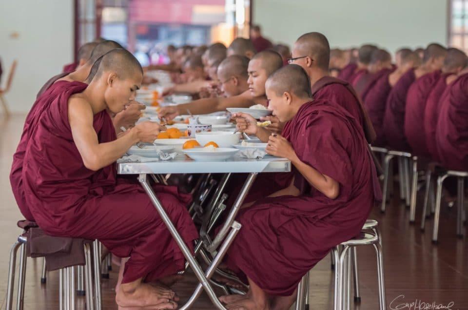Le repas des moines.