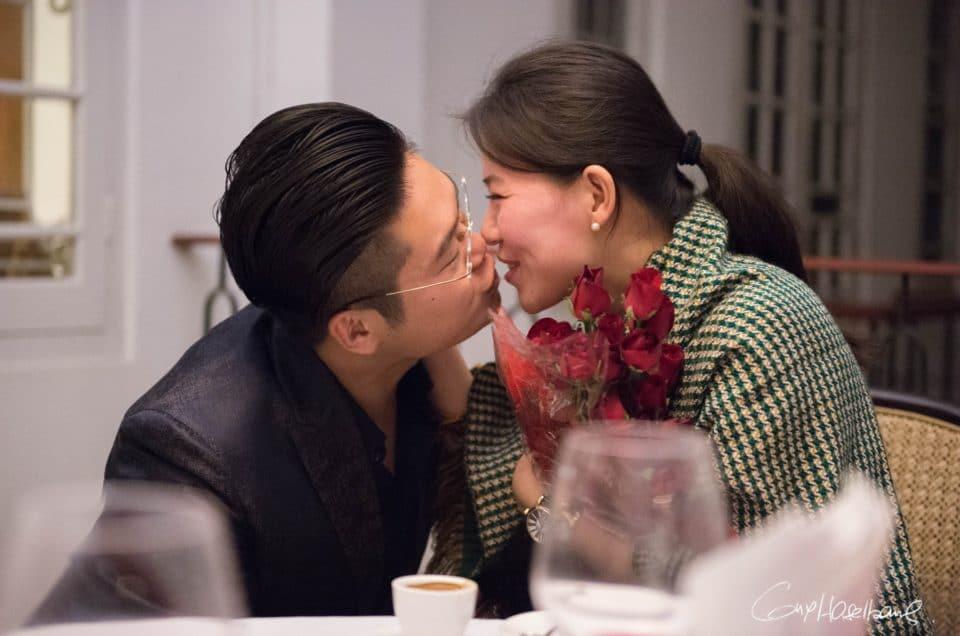 Le couple le plus romantique.