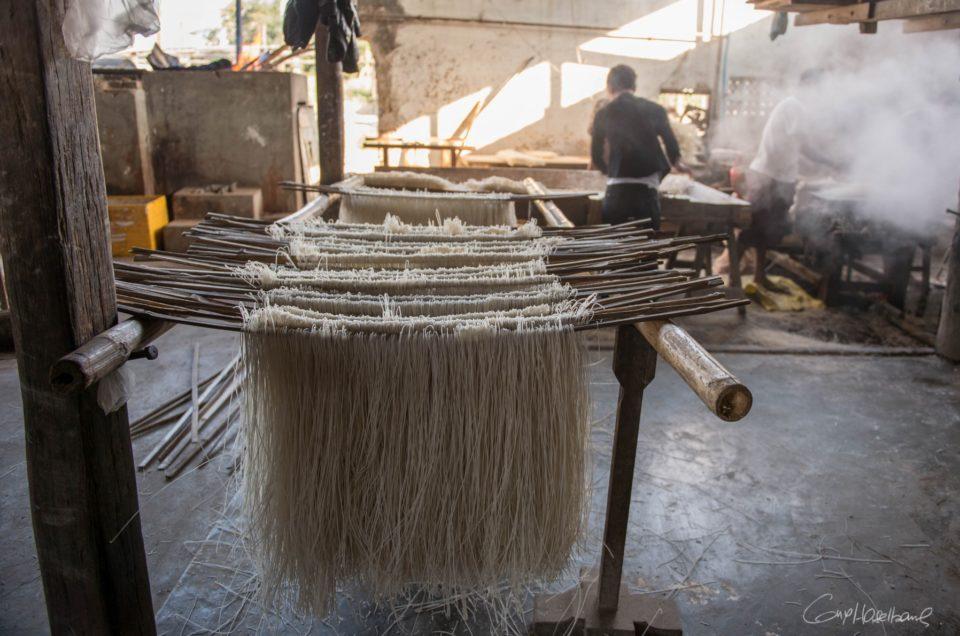 La fabrique de nouilles de Hsipaw.