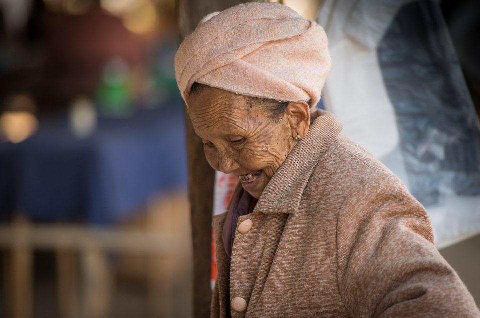 Visages du marché de Nan Pan (Inle lake)