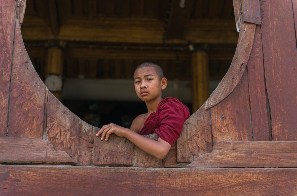 Les moines de Shwe Yan Pyay.