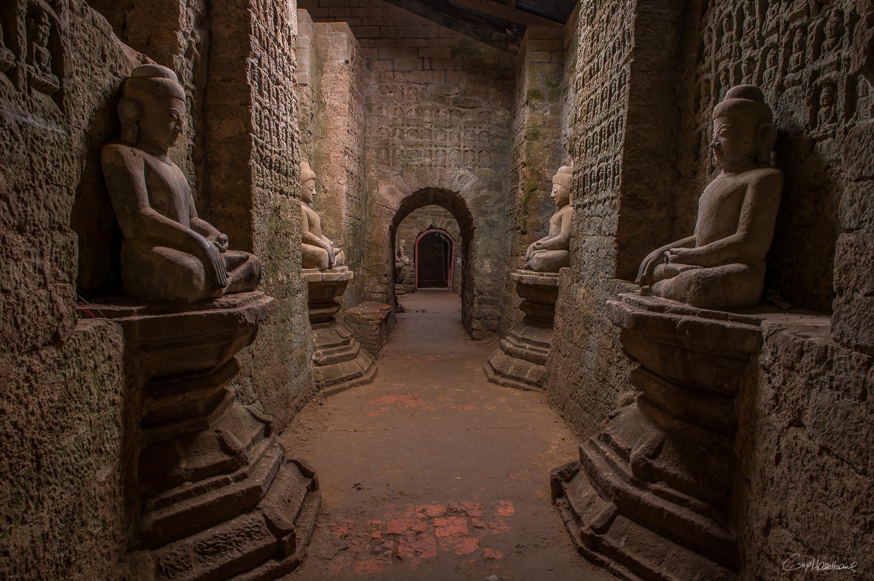 Temple Ko Thaung de Mrauk-U - Birmanie.