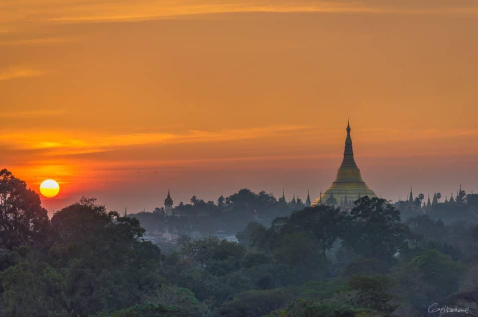 Itinéraire au coeur de la Birmanie.