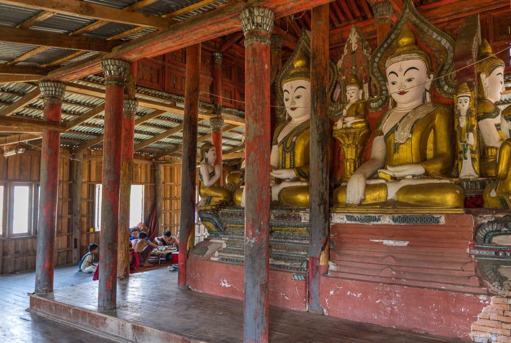Monastère de Samkar - Lac Inle