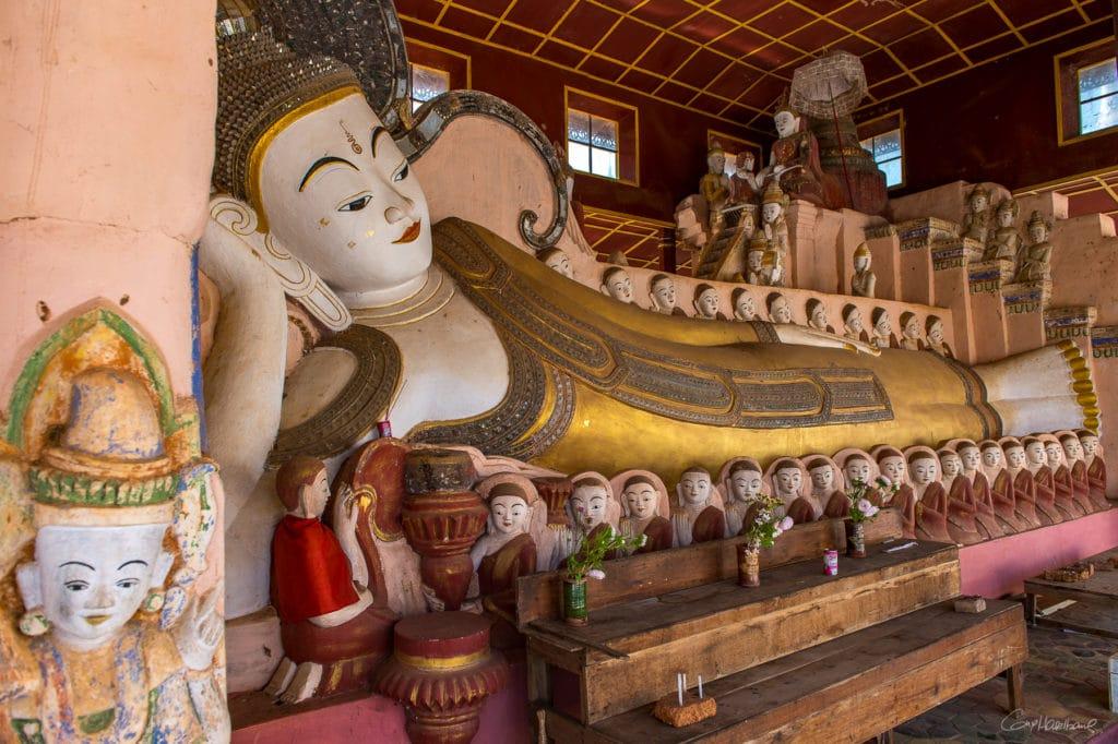 Buddha Samkar - lac Inle