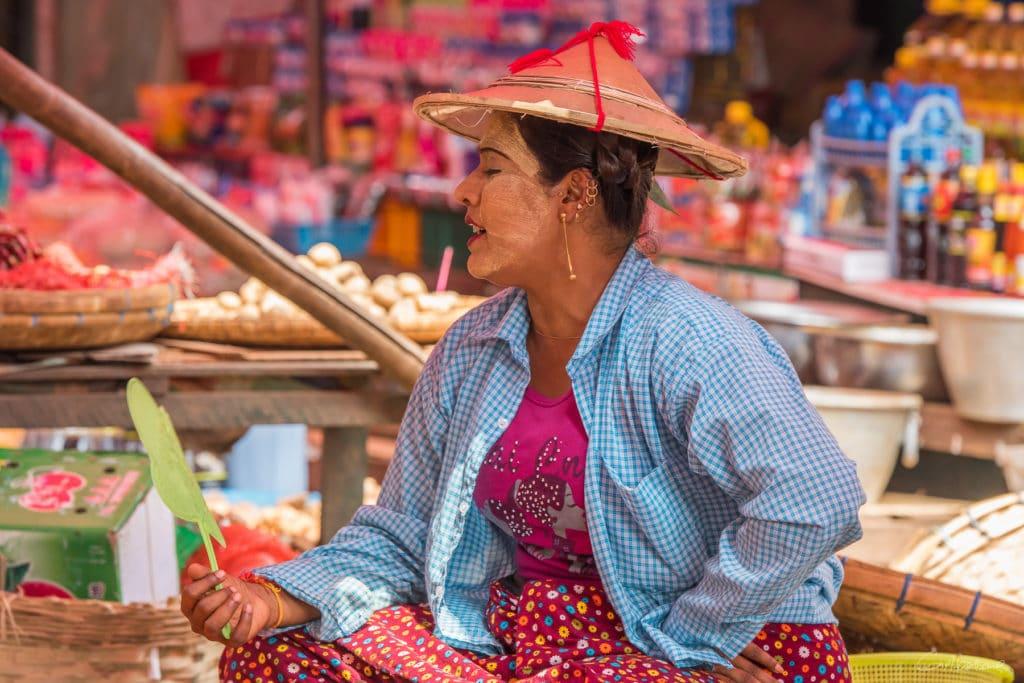 Marché de Kentung Etat Shan Pegou - Région de Yangon