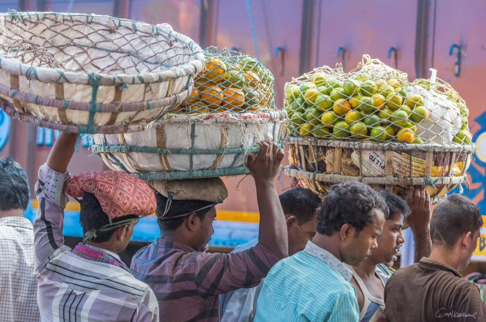 Mechua Market Calcutta.