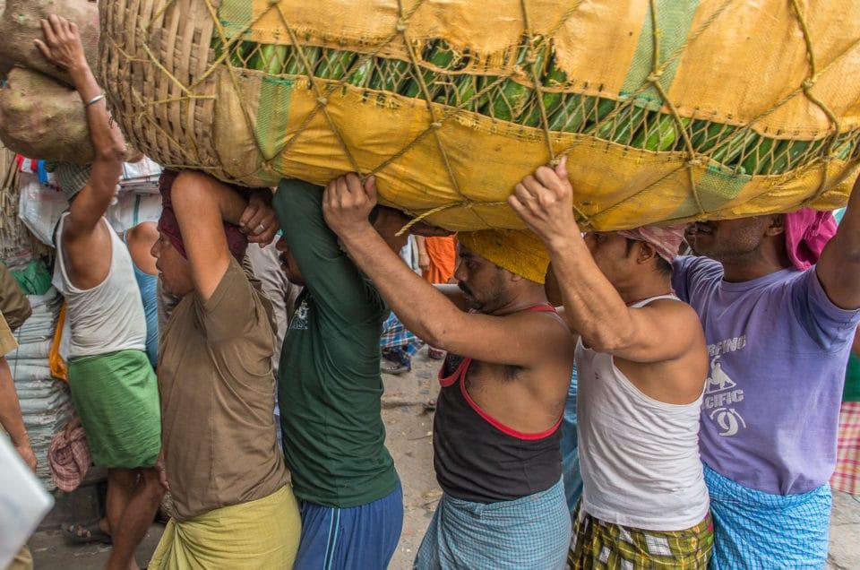 Les porteurs de Kolay Market.
