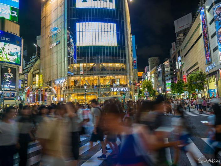 Shibuya crossing, Tokyo.
