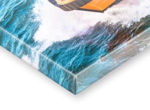 Impression sur toile montée sur cadre de 2.5 ou 3.8 cm