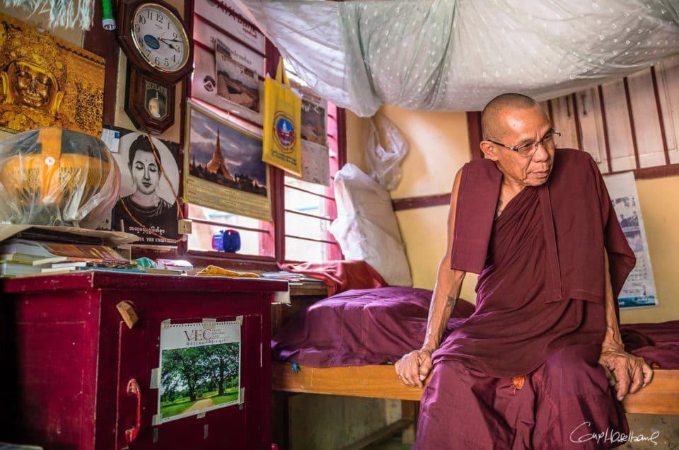 Ashin Kovida, moine bouddhiste.