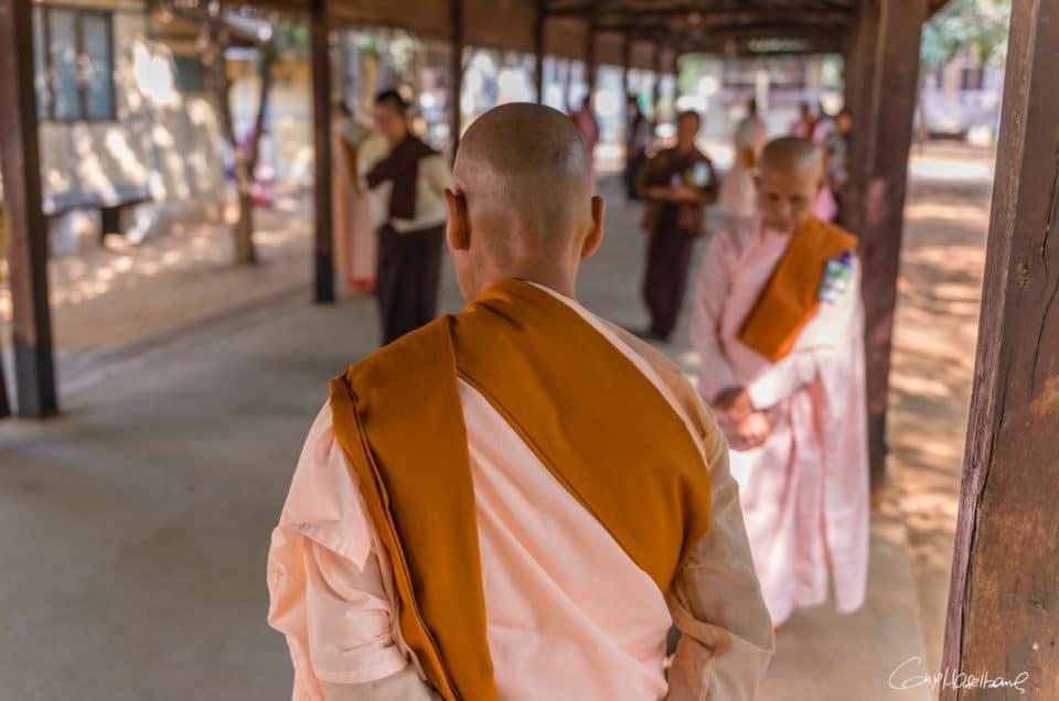 La méditation en marchant.