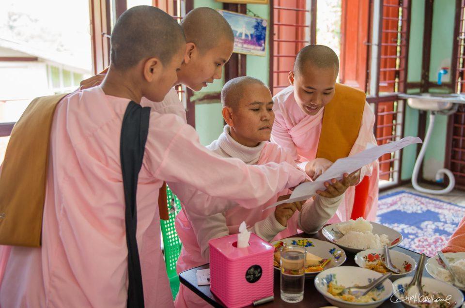 Ma Singasiri, a Buddhist nun.
