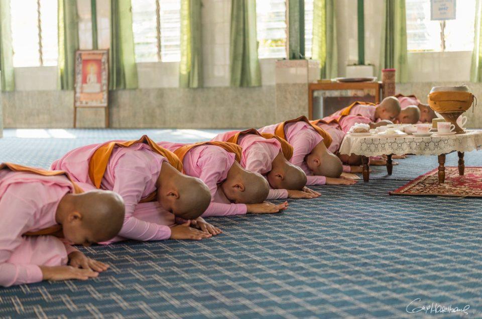 Le Monastère des nonnes de Mandalay.