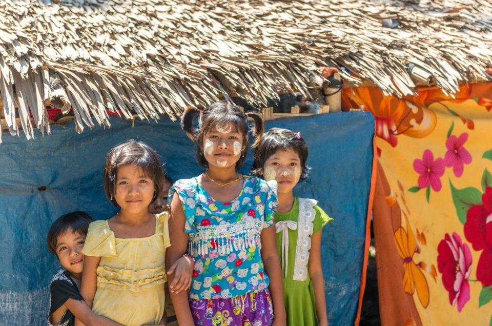 La vie au village des pêcheurs de Nagpali.