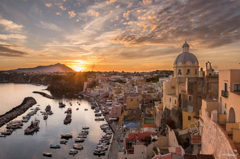 Procida, the pearl of Naples.
