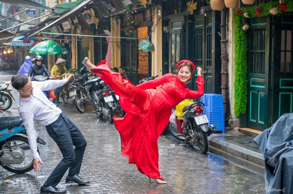 The streets of Hanoi.